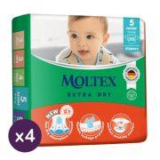MOLTEX Extra Dry nadrágpelenka, Junior 5, 11-16 kg HAVI PELENKACSOMAG 160 db
