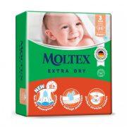 MOLTEX Extra Dry nadrágpelenka, Midi 3, 6-10 kg, 50 db