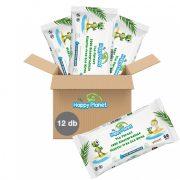 My Happy Planet biológiailag lebomló nedves törlőkendő csomag 12x60 db
