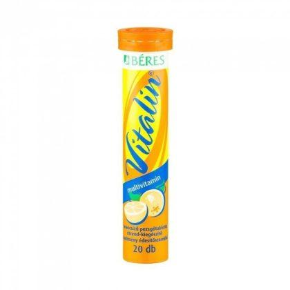 Béres Vitalin Multivitamin pezsgőtabletta narancs ízben (20 db)