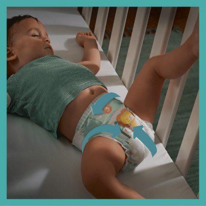 Pampers Active Baby pelenka, Midi 3, 6-10 kg, 1+1, 416 db