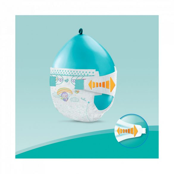 Pampers Active Baby pelenka, Maxi 4, 9-14 kg, 1+1, 348 db