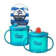 Tommee Tippee FreeFlow First Cup pohár 190ml 4hó+ (türkiz)