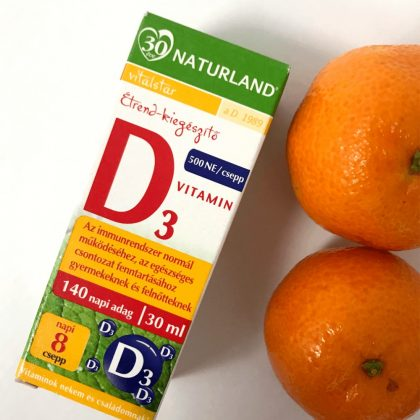 Naturland D3-vitamin cseppek (30 ml)
