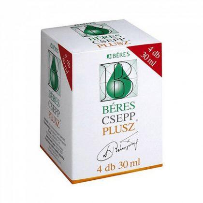 Béres Csepp Plusz (4x30 ml)