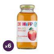 Hipp BIO alma gyümölcslé C-vitaminnal, 4 hó+ (6x200 ml)