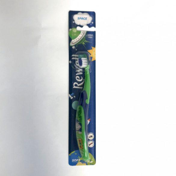 Rewell Space puha gyerekfogkefe (kék-zöld)