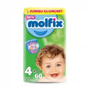 Molfix pelenka, Maxi 4, 7-14 kg, 60 db