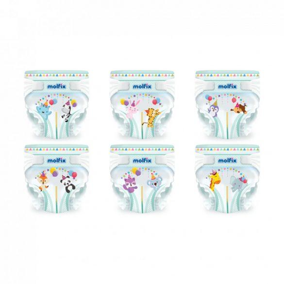 Molfix pelenka, Maxi 4, 7-14 kg, HAVI PELENKACSOMAG 3x60 db
