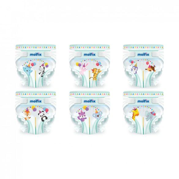 Molfix nadrágpelenka, Maxi 4, 7-14 kg HAVI PELENKACSOMAG 3x60 db