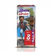 Libero UP&GO bugyipelenka, XL+ 8, 19-30 kg, 30 db
