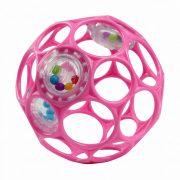 Oball Rattle csörgős játék 10 cm - rózsaszín (0 hó+)