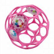 Oball csörgős játék 10 cm - rózsaszín (0 hó+)