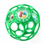 Oball Rattle csörgős játék 10 cm - zöld (0 hó+)