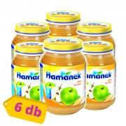 Hamánek bébidesszert alma, 4 hó+ (6x190 g)
