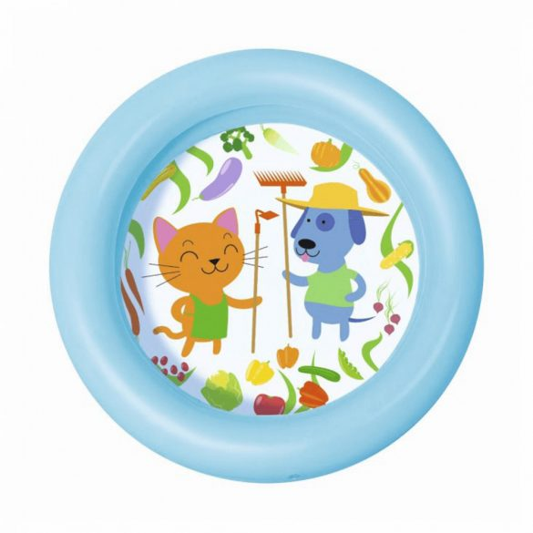 2 gyűrűs baba medence (kék)