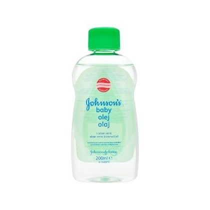 Johnson's babaolaj, aloe vera kivonattal, 200 ml
