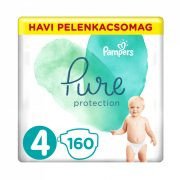 Pampers Pure Protection pelenka, Maxi 4, 9-15 kg, 160 db