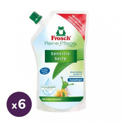 Frosch folyékony szappan utántöltő gyerekeknek 6x500 ml