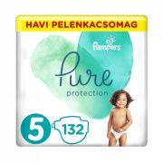 Pampers Pure Protection pelenka, Junior 5, 11-16 kg, 132 db