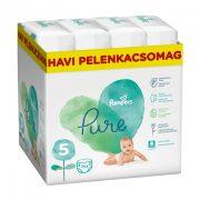 Pampers Pure Protection pelenka, Junior 5, 11-16 kg, HAVI PELENKACSOMAG 264 db