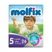 Molfix nadrágpelenka, Junior+ 5+, 13-20 kg, 26 db