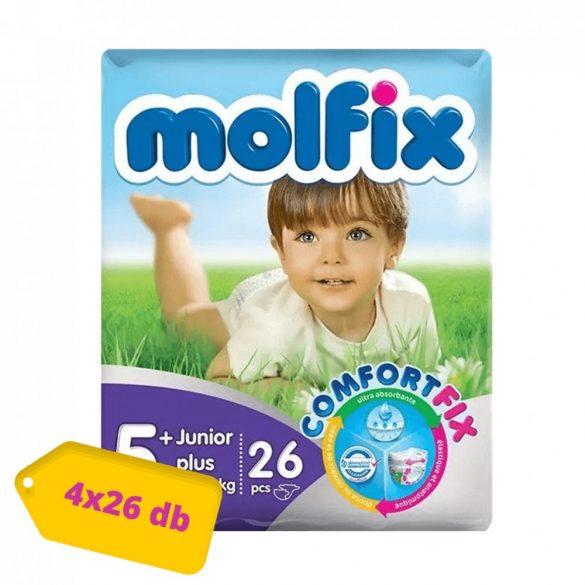 Molfix pelenka, Junior+ 5+, 13-20 kg, HAVI PELENKACSOMAG 4x26 db