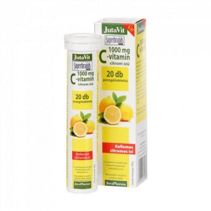 Jutavit C-vitamin pezsgőtabletta 1000 mg (20 db)