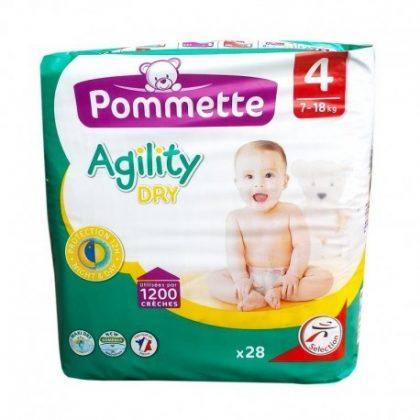 Pommette Agility pelenka, Maxi 4, 7-18 kg 28 db