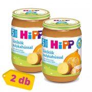 Hipp BIO sütőtök pulykahússal, 5 hó+ (2x190 g)