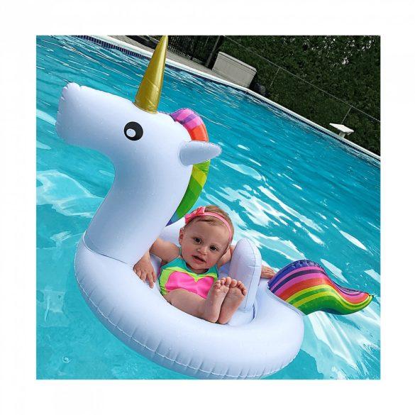 Unikornis beülős baba úszógumi