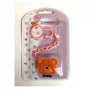 BabyBruin Cumilánc (maci rózsaszín lánccal)