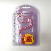 BabyBruin Cumilánc (oroszlán rózsaszín lánccal)