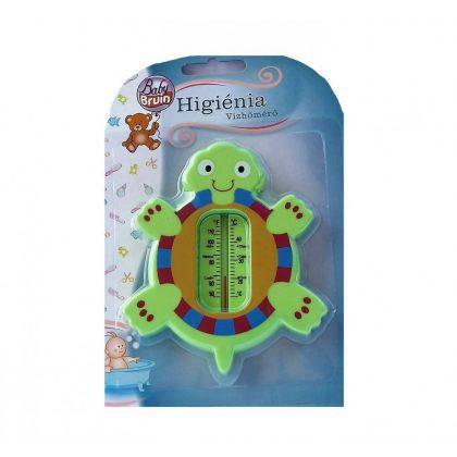 BabyBruin vízhőmérő - zöld teknős