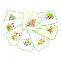 BabyBruin textil előke (7+1 db)