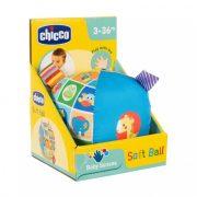 Chicco Baby Senses puha csörgős bébilabda