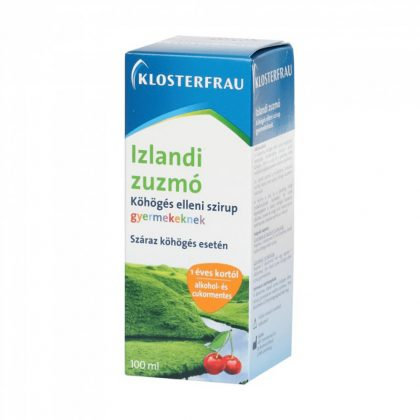 Klosterfrau Izlandi zuzmó köhögés elleni szirup (100 ml)