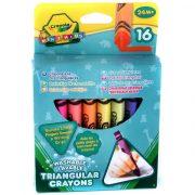 Crayola 16 db háromszög alakú tömzsi viaszkréta készlet