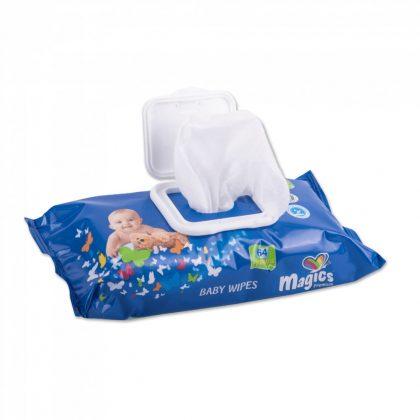 Magics Baby Wipes törlőkendő 72 db