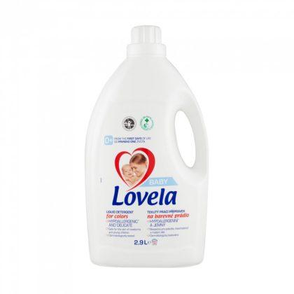 Lovela Baby hipoallergén folyékony mosószer színes ruhákhoz 2,9 liter (32 mosás)