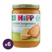 Hipp BIO sütőtök burgonyával, 4 hó+ (6x190 g)