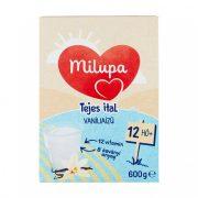 CSOMAGOLÁSSÉRÜLT - Milupa vanília ízű tejes ital-gyerekital 12 hó+ (600 g)