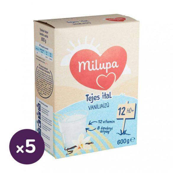 Milupa Junior 1 vanília ízű gyerekital 12 hó+ (5x600 g)