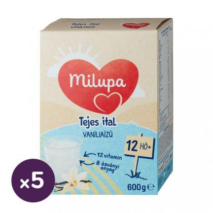 Milupa vanília ízű tejes ital-gyerekital 12 hó+ (5x600 g)