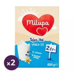 Milupa Junior 2 vanília ízű gyerekital 24 hó+ (2x600 g)