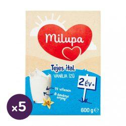 Milupa Junior 2 vanília ízű gyerekital 24 hó+ (5x600 g)