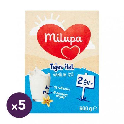 Milupa vanília ízű tejes ital-gyerekital 24 hó+ (5x600 g)
