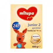 CSOMAGOLÁSSÉRÜLT - Milupa Junior 2 vanília ízű gyerekital 24 hó+ (600 g)