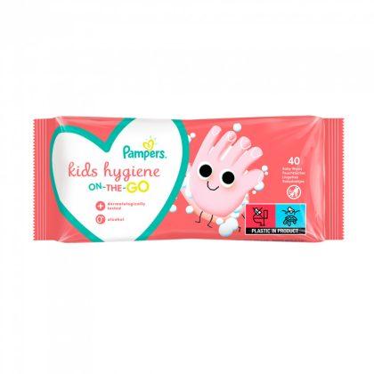 Pampers Kids Hygiene nedves törlőkendő 40 db