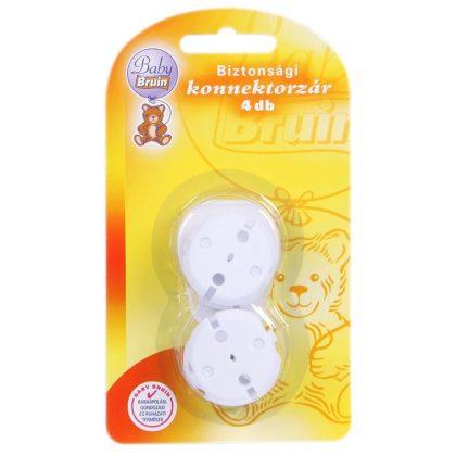 BabyBruin biztonsági konnektorzár (4 db)